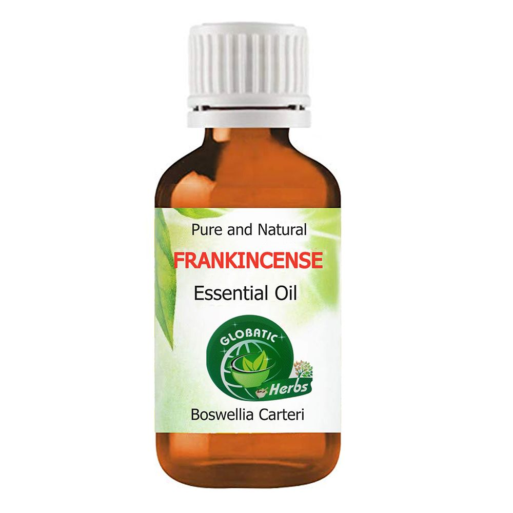 Frankincense Essential Oil - (Boswellia carteri) Organic & 100% Therapeutic Grade